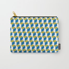 Geometric Box Carry-All Pouch