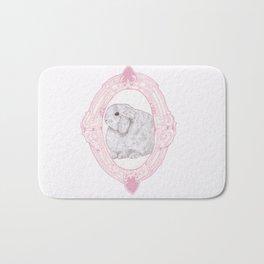Cameo Bunny Bath Mat