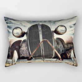 A Terlingua Native Rectangular Pillow