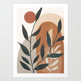 Branches Design 03 Art Print