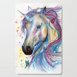 Whimsical Unicorn Cutting Board