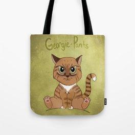 Georgie-Pants Tote Bag