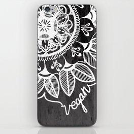 Vegan Mandela drawing iPhone Skin