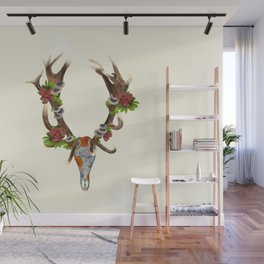 The Red Stag Wall Mural