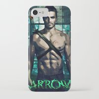arrow iPhone & iPod Cases featuring Arrow by Christine DeLong Creative Studio
