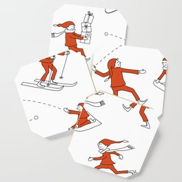 Christmas Elves Coaster