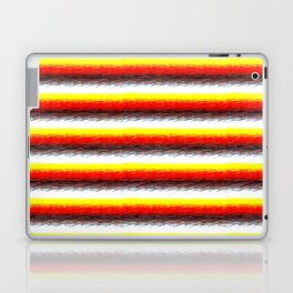 YelOraBrownWhite Laptop & iPad Skin
