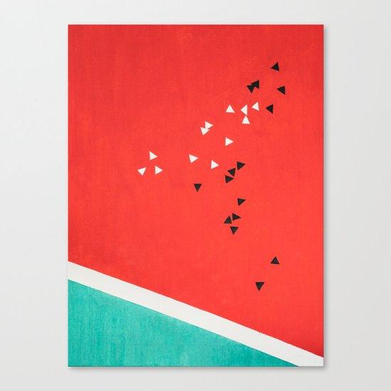 Composition №M2 Canvas Print