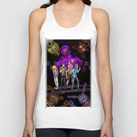 fnaf Tank Tops featuring fnaf by Fateless Knight