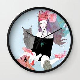 Fashion Sioux Wall Clock
