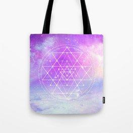 Sacred Geometry (Sri Yantra) Tote Bag
