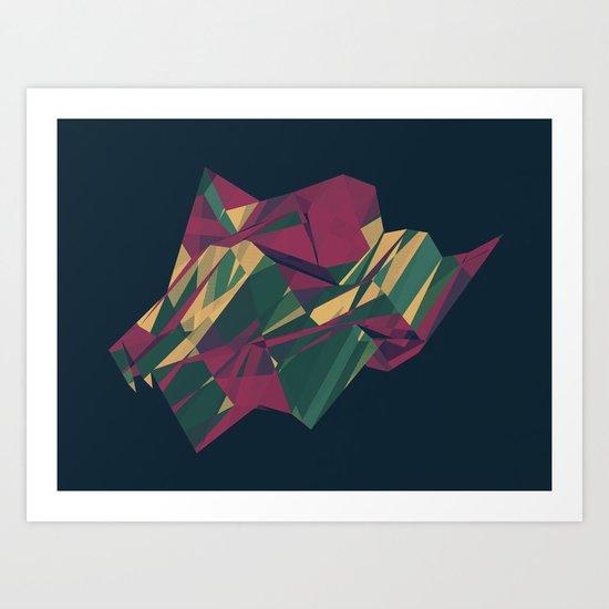 Crystalline 1 Art Print