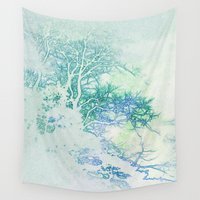 oriental Wall Tapestries featuring Oriental by Aniko Gajdocsi