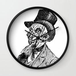 Hat 2 Wall Clock