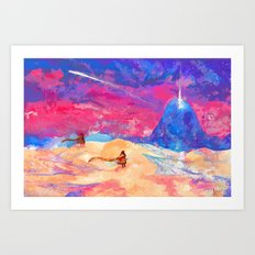 journey - apotheosis Art Print