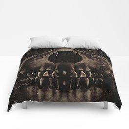Dark Skull  Comforters