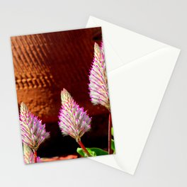 A Flurry Of Furry Flowers Stationery Cards
