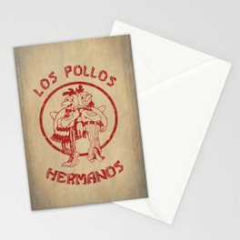 Los Pollos Hermanos vintage ( Breaking Bad ) Stationery Cards
