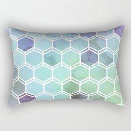 TWEEZY PATTERN OCEAN COLORS byMS Rectangular Pillow