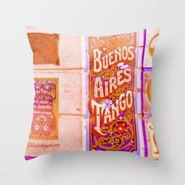 Tango Buenos Aires, Argentina. Throw Pillow