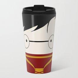 The Gryffindor Quidditch team's uniform Travel Mug