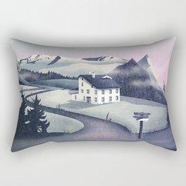 Alpine Island Rectangular Pillow