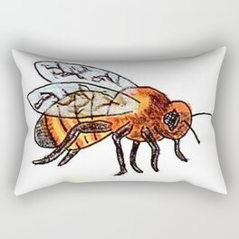 Honey Bee keeper Rectangular Pillow