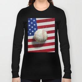 Baseball - New York, New York Long Sleeve T-shirt
