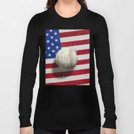Baseball - New York, New York Long Sleeve T-shirt