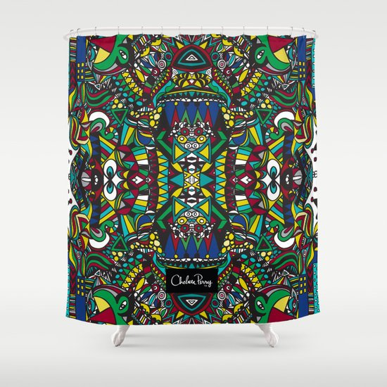 King of the City Shower Curtain