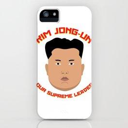 Kim Jong-Un iPhone Case