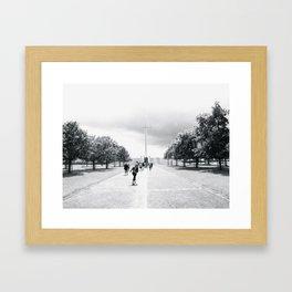 Ireland Cross Framed Art Print