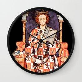 Alfonso X, primer friki hispánico Wall Clock