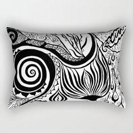 Boob Warrior I Rectangular Pillow
