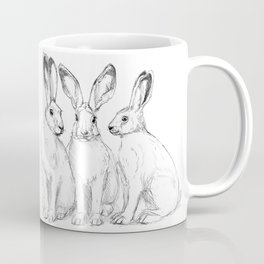 Three Hares sk131 Coffee Mug