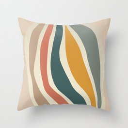 Giving - Abstract Art Print Throw Pillow