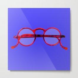 Vintage Eyeglasses #1 Metal Print