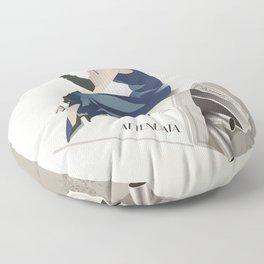Glory to Yugoslavian design by Cardula Floor Pillow
