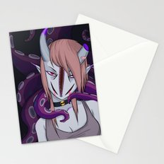 Girl with her boyfriend Stationery Cards