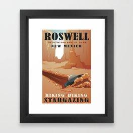 CPS Roswell, NM Framed Art Print