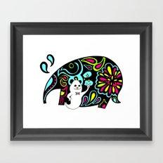 Elephank Framed Art Print