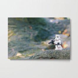 Lego Storm Trooper Metal Print