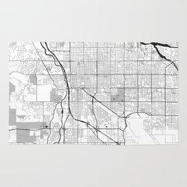 Tucson Map Gray Rug