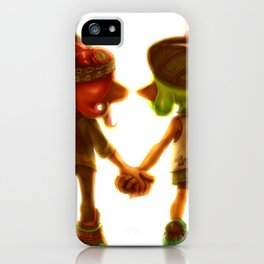 Splatoon 2 - Squid & Octo iPhone Case