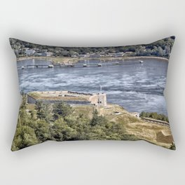 Fort Knox and the Penobscot River Valley Rectangular Pillow