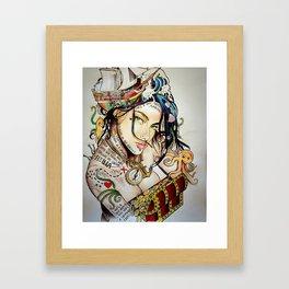 Irie Lou Framed Art Print