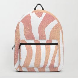 wild thing (pink and gold foil) Backpack