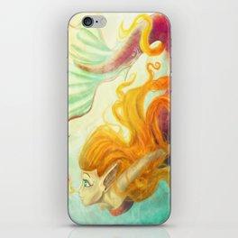 Coral's New Friend iPhone Skin