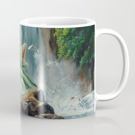 Fishing fantasy dragon Coffee Mug