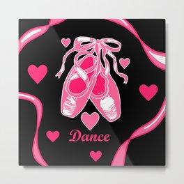 Love Dance Metal Print